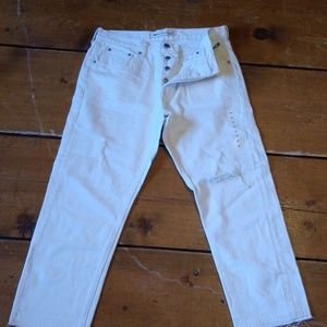 Gap Vintage Straight Cropped Jeans!